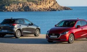 Tο Mazda 2 ανανεώθηκε, έγινε ήπια υβριδικό και παρουσιάστηκε επίσημα στην Ελλάδα