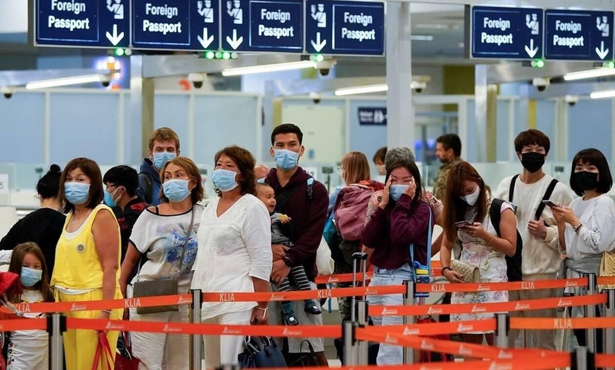 Κοροναϊός: Έλληνας ανάμεσα στους επιβάτες της πτήσης από Κίνα προς Γαλλία