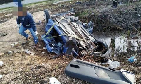 Πρέβεζα: Νεκρός 40χρονος σε φρικτό τροχαίο - Εικόνες ΣΟΚ από το διαλυμένο αυτοκίνητο