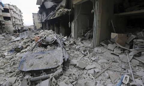 Συρία: Τουλάχιστον εννέα άμαχοι νεκροί σε αεροπορικές επιδρομές στην Ιντλίμπ