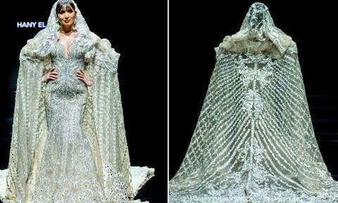 Νυφικό του σχεδιαστή Hany El-Behairy το 3ο ακριβότερο φόρεμα στον κόσμο