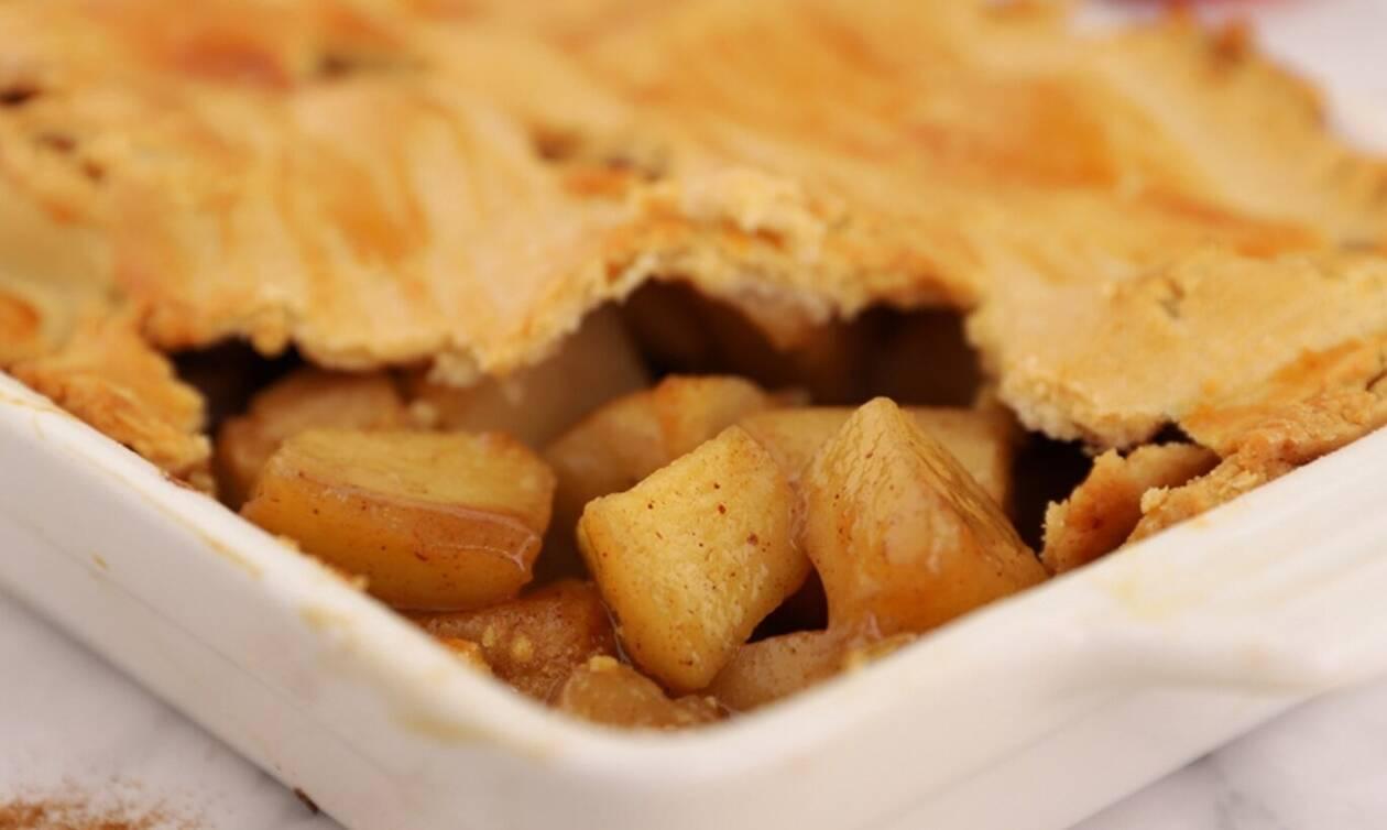 Η γλυκιά συνταγή της ημέρας: Μηλόπιτα χωρίς ζάχαρη