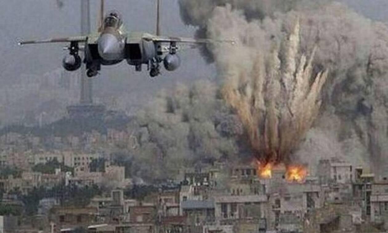 Έτσι βομβαρδίζουν οι Η.Π.Α τους Ισλαμιστές του ISIS! (vid)