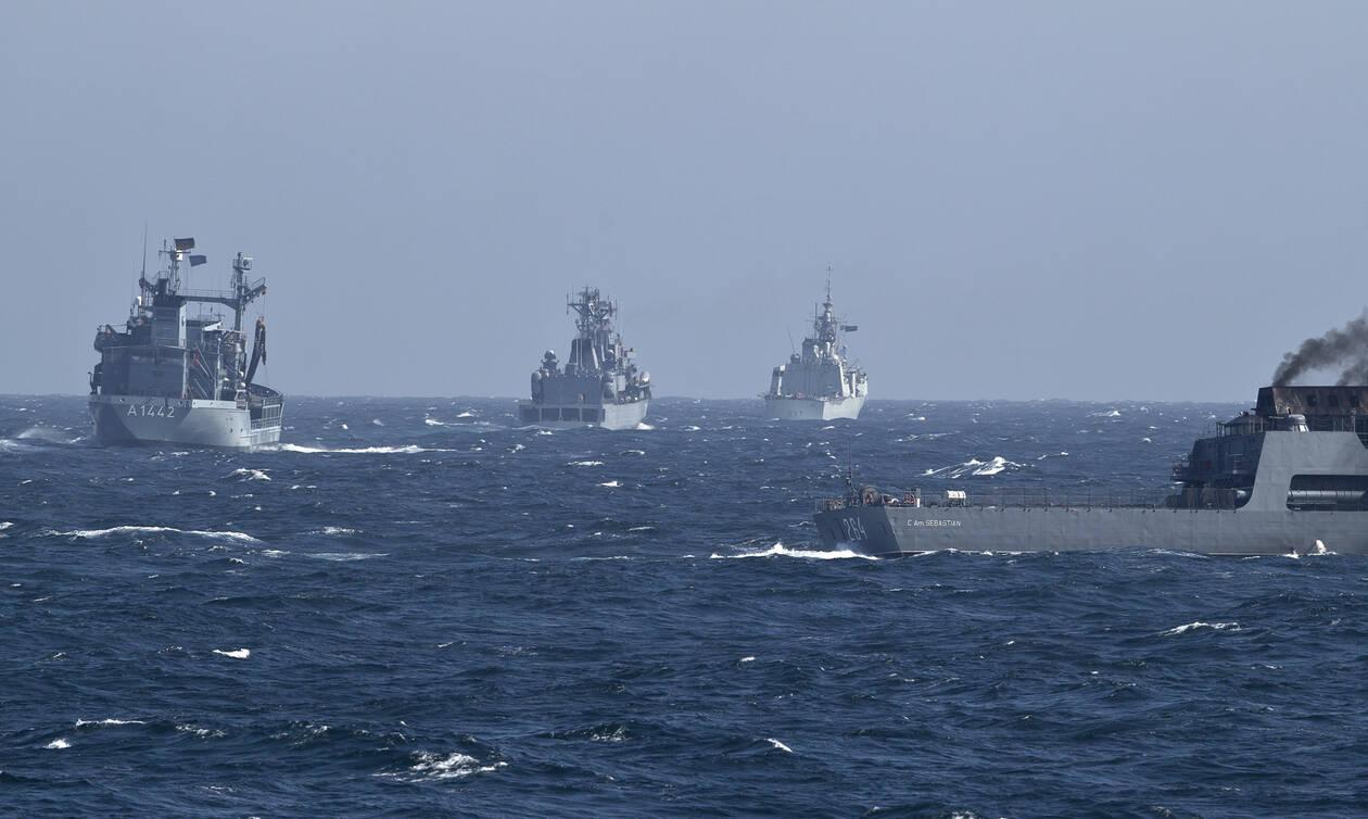 Σκηνικό πολέμου στην ανατολική Μεσόγειο: Συγκέντρωση πολεμικών πλοίων στην περιοχή