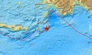 Σεισμός νοτιοανατολικά της Καρπάθου (pics)