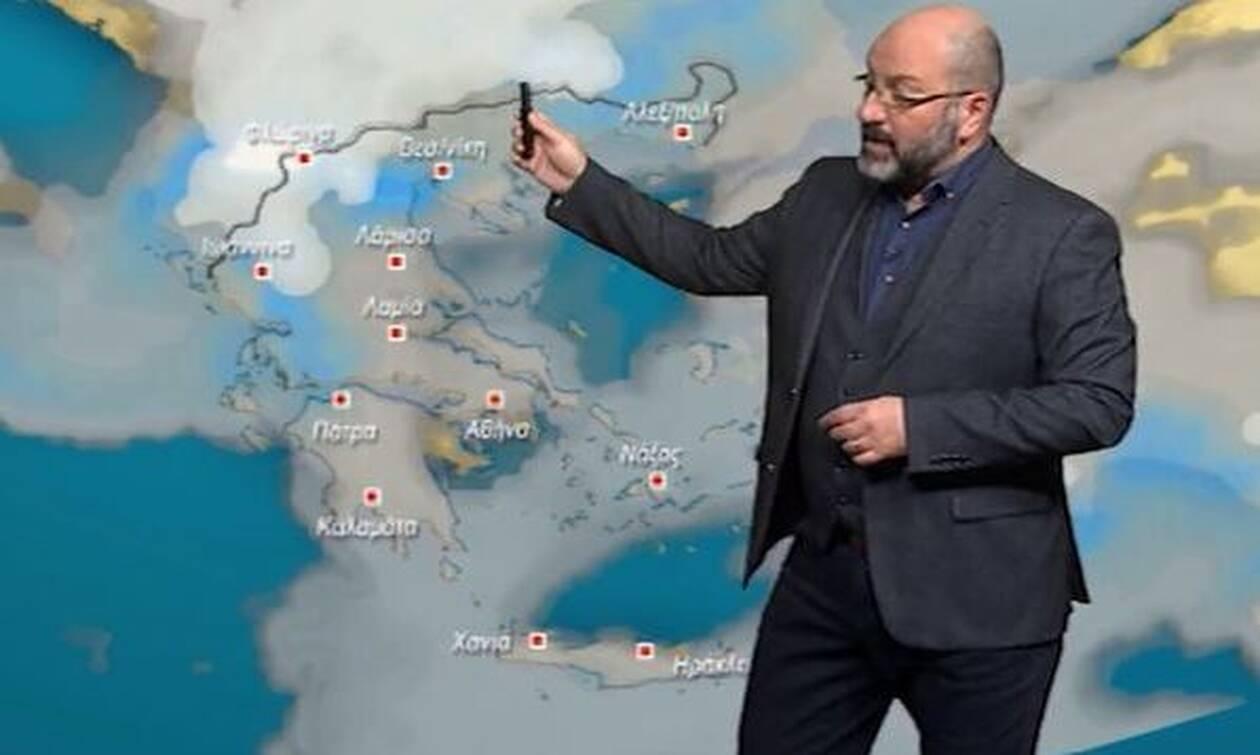 Καιρός: «Θέλει προσοχή το ξημέρωμα της Τετάρτης»! Προειδοποίηση Αρναούτογλου για τις χιονοπτώσεις