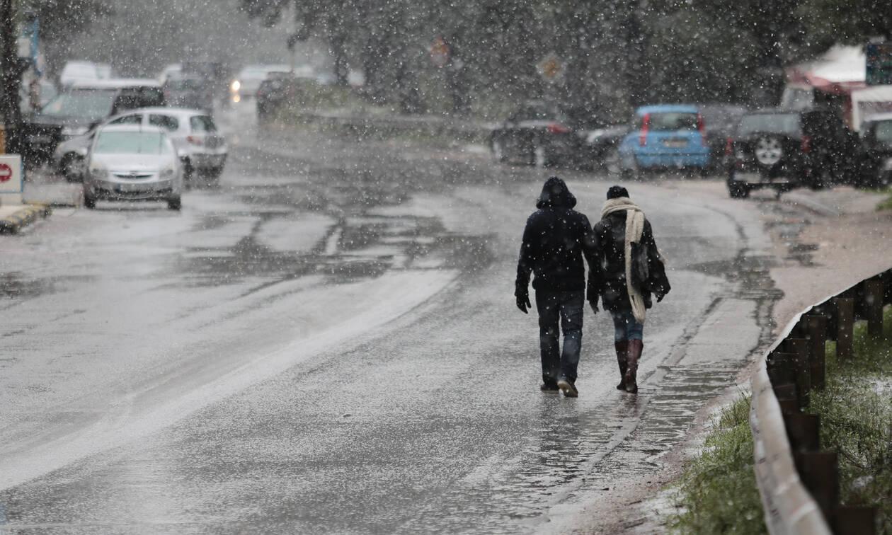 Καιρός: Ραγδαία επιδείνωση σε λίγες ώρες - Τεράστια πτώση της θερμοκρασίας - Πού θα χιονίσει