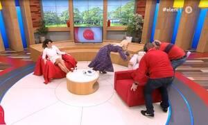 Ελένη Μενεγάκη: Άρχισε να αλλάζει το σκηνικό της εκπομπής της!