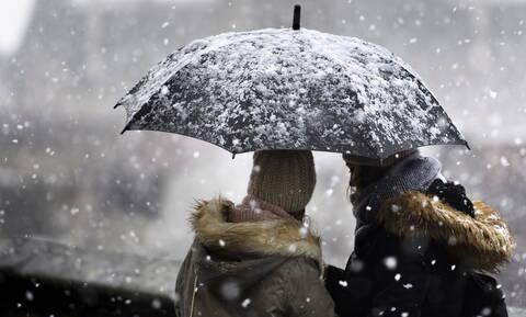 Καιρός: Καρέ - καρέ η εξέλιξη της κακοκαιρίας - Σε αυτές τις περιοχές θα χιονίσει τις επόμενες ώρες