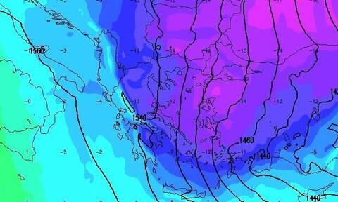 Καιρός: Πιθανή υποτροπή και νέες χιονοπτώσεις το Σάββατο. Η προειδοποίηση του Μαρουσάκη...