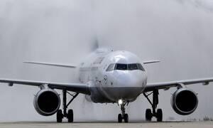 Самолет не смог приземлиться на Крите из-за сильного ветра