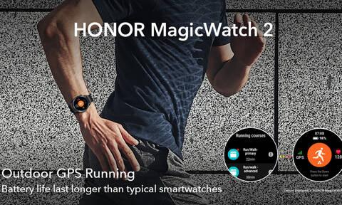 To HONOR Magic Watch 2 στο 1ο Atromitos Ultra Run