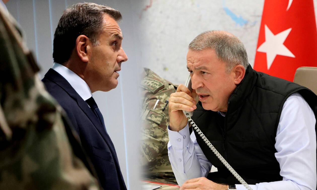Τηλεφωνική συνομιλία Παναγιωτόπουλου-Ακάρ - Τι συζήτησαν