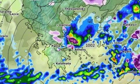 Καιρός: Ώρα με ώρα η εξέλιξη της ψυχρής εισβολής! Πότε θα χιονίσει και στην Αττική (videos)