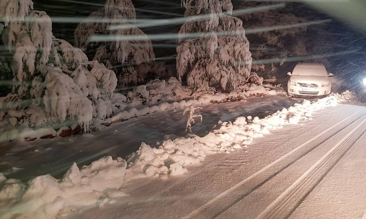 Καιρός: «Βουτιά» της θερμοκρασίας έως και 18 βαθμούς - Πού θα χιονίσει την Πέμπτη