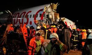 Αεροπορική τραγωδία στην Τουρκία: Ένας νεκρός στα συντρίμμια του αεροσκάφους που κόπηκε στη μέση