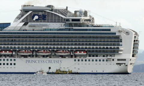 Κοροναϊός: Αυξάνονται τα κρούσματα στο Diamond Princes - Όλο το πλοιο σε καραντίνα
