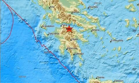 Σεισμός κοντά στα Καλάβρυτα (pics)