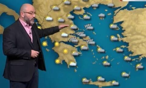Καιρός - Αρναούτογλου: Χιόνια και στα βόρεια προάστια Αττικής απόψε... Νέα ψυχρή εισβολή το Σάββατο