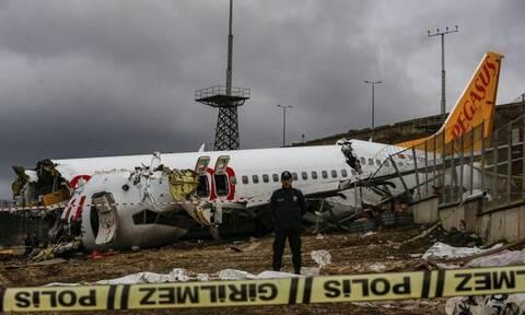 Video - σοκ: Η στιγμή που το αεροπλάνο της Pegasus φεύγει από τον αεροδιάδρομο προς τον γκρεμό