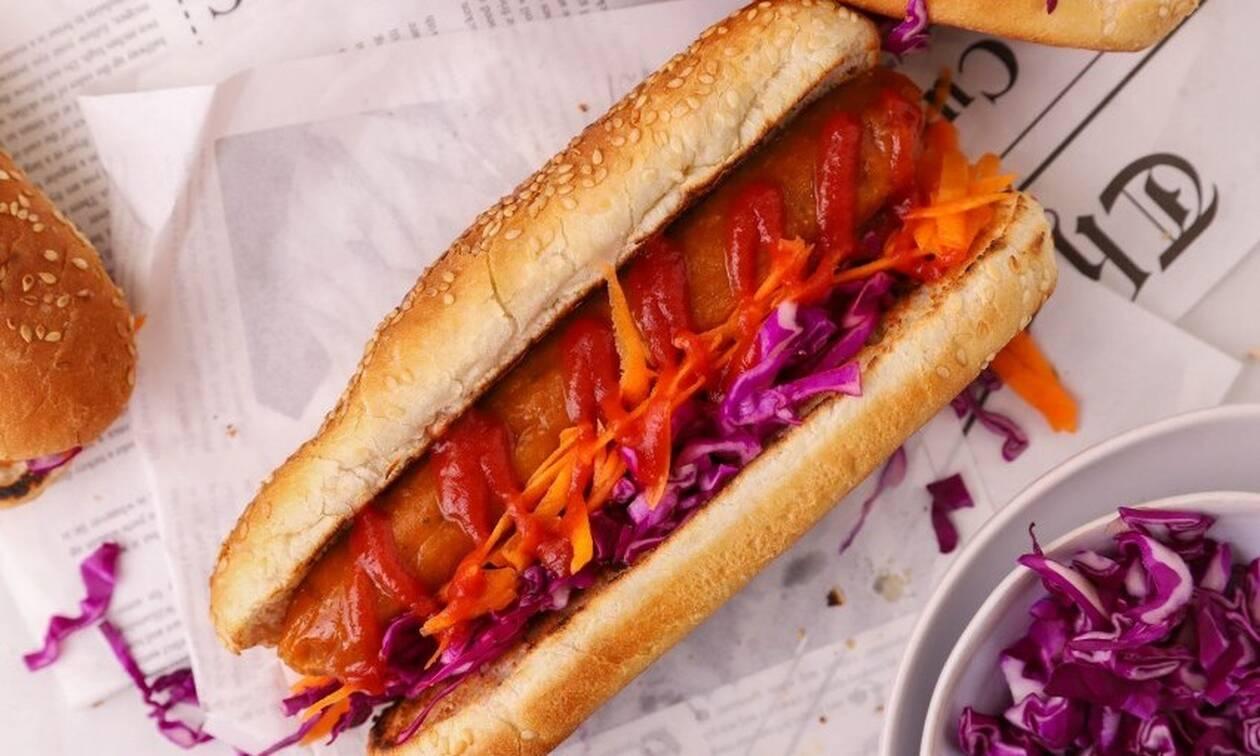 Η... διαφορετική συνταγή της ημέρας: Vegan hot dog