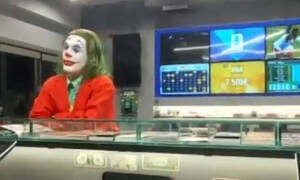 Επικό βίντεο: Τι κάνει ο… Τζόκερ σε κατάστημα τυχερών παιχνιδιών στη Νέα Ιωνία;