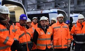 Ικανοποίηση για την πρόοδο του Μετρό Θεσσαλονίκης