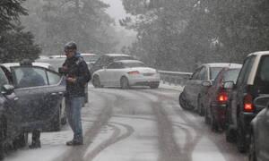 Κακοκαιρία: Ποιοι δρόμοι είναι κλειστοί - Πού χρειάζονται αντιολισθητικές αλυσίδες