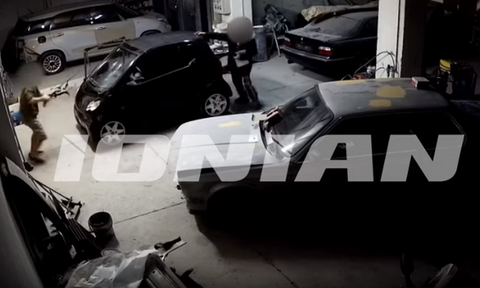 Πάτρα: Σοκαριστικό βίντεο από τη δολοφονία του 41χρονου στο φανοποιείο
