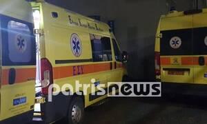 Ηλεία: Σοβαρά τραυματίας 37χρονος σε τροχαίο στη Νεμούτα