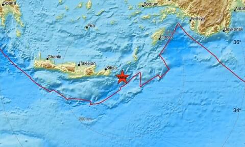 Σεισμός: Διπλή σεισμική δόνηση ανατολικά της Κρήτης (pics)