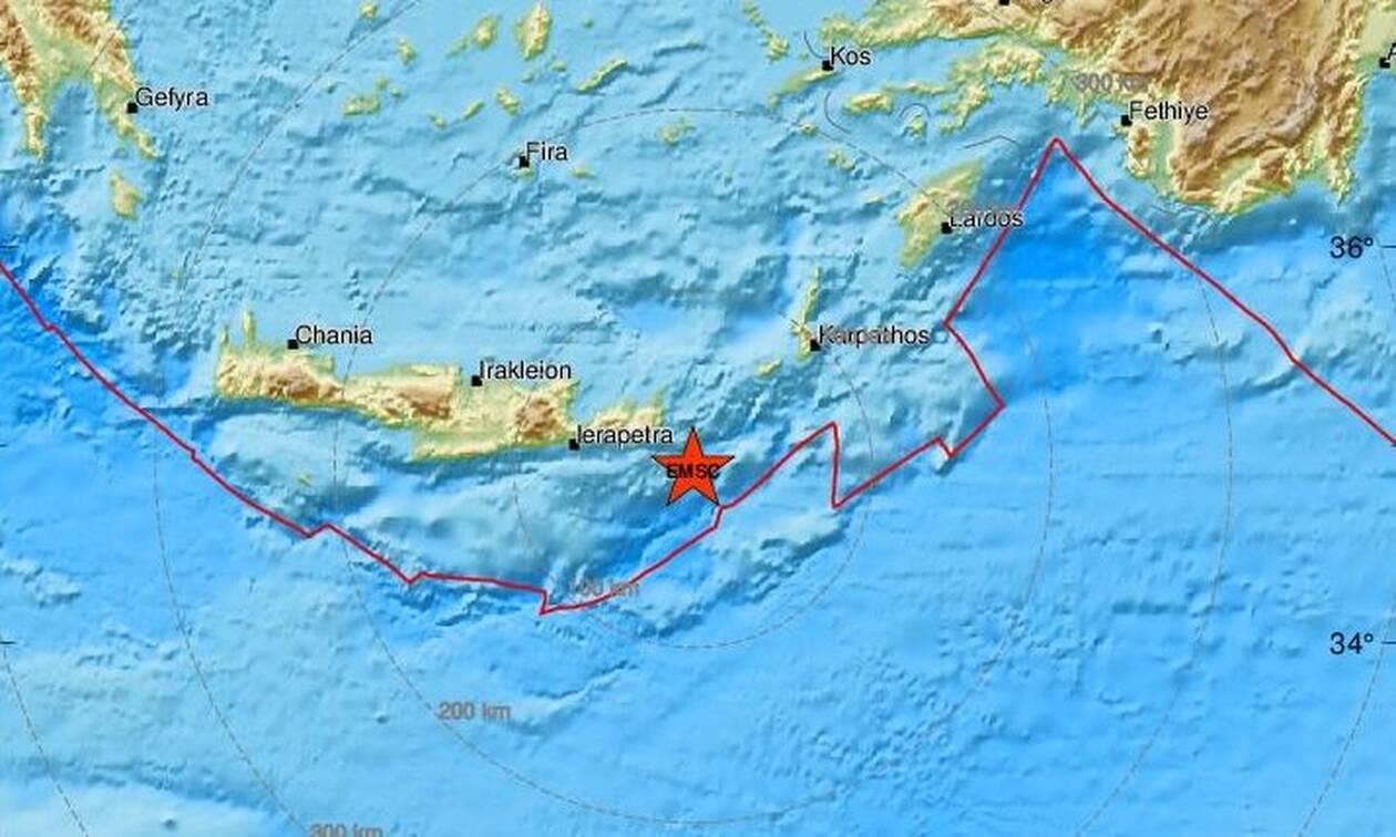 Σεισμός: Η Κρήτη «χορεύει» από τα Ρίχτερ - Τριπλό χτύπημα του Εγκέλαδου μέσα σε λίγα λεπτά