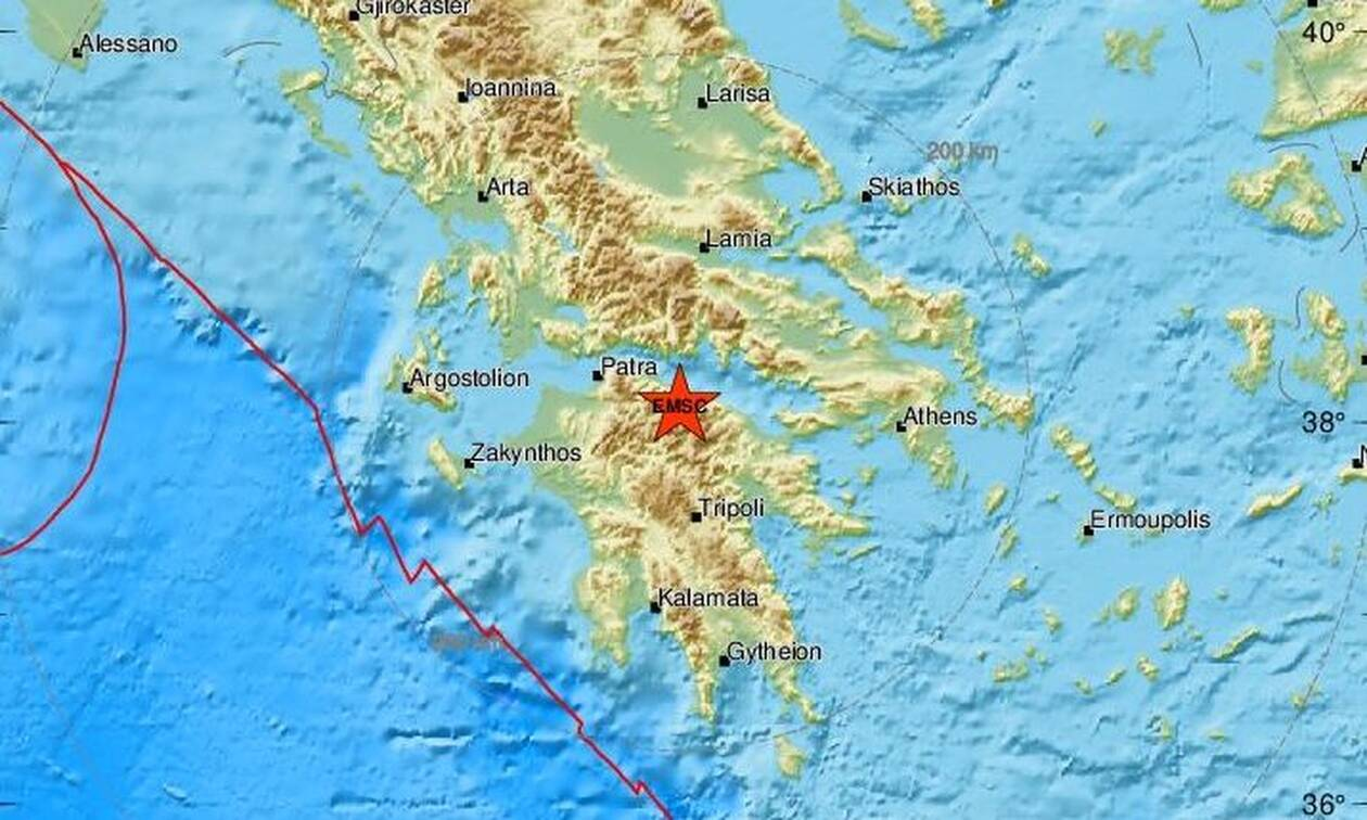 Σεισμός ΤΩΡΑ κοντά στα Καλάβρυτα (pics)