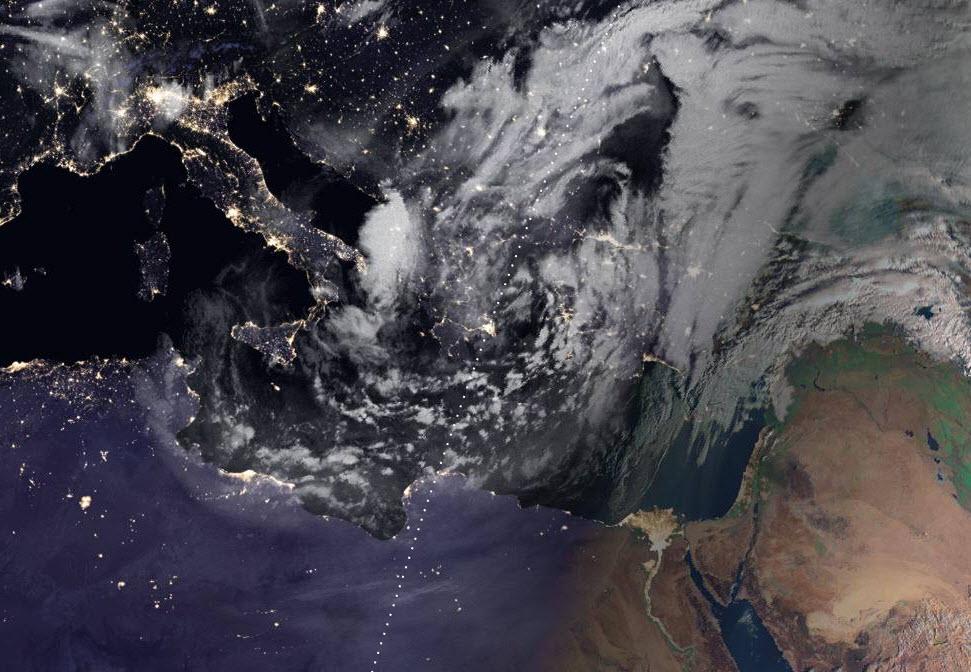 Καιρός: Χιόνισε στην Αττική - Πότε εξασθενεί η κακοκαιρία (pics) - Newsbomb - Ειδησεις