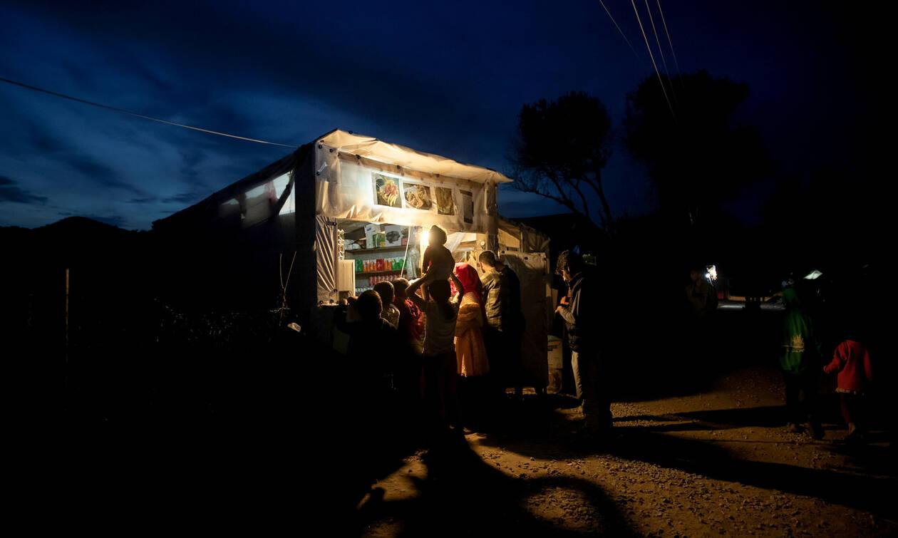 Συλλήψεις επτά ατόμων για τα «τάγματα εφόδου» στη Μόρια