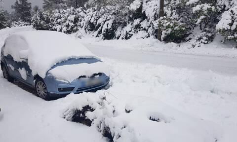 Καιρός: Σε ποια περιοχή της Ελλάδας έδειξε το θερμόμετρο -14 βαθμούς Κελσίου