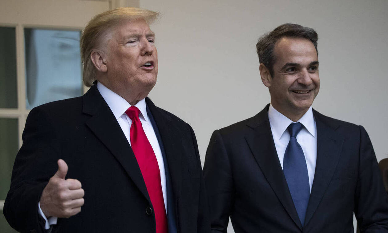 Trump: Mitsotakis an outstanding leader who has achieved higher Greek growth rates