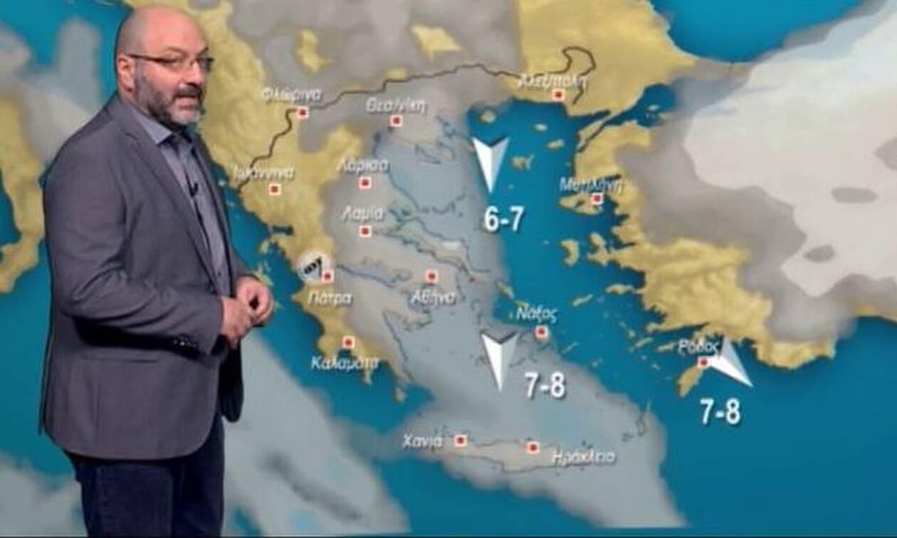 Καιρός: Νέα ψυχρή εισβολή το Σάββατο! Πού θα χιονίσει; Η ανάλυση του Σάκη Αρναούτογλου (video)