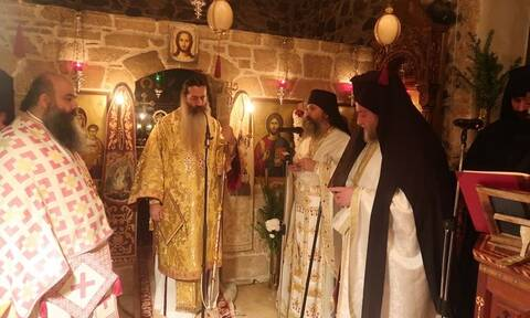 Μητροπολίτης Συμεών: Ιερά Αγρυπνία στην πιο ακριτική Μονή της Φθιώτιδας