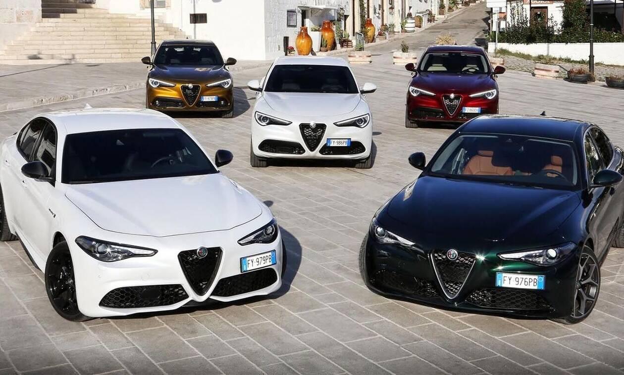 Στην Ελλάδα οι ανανεωμένες Alfa Romeo Giulia και Stelvio