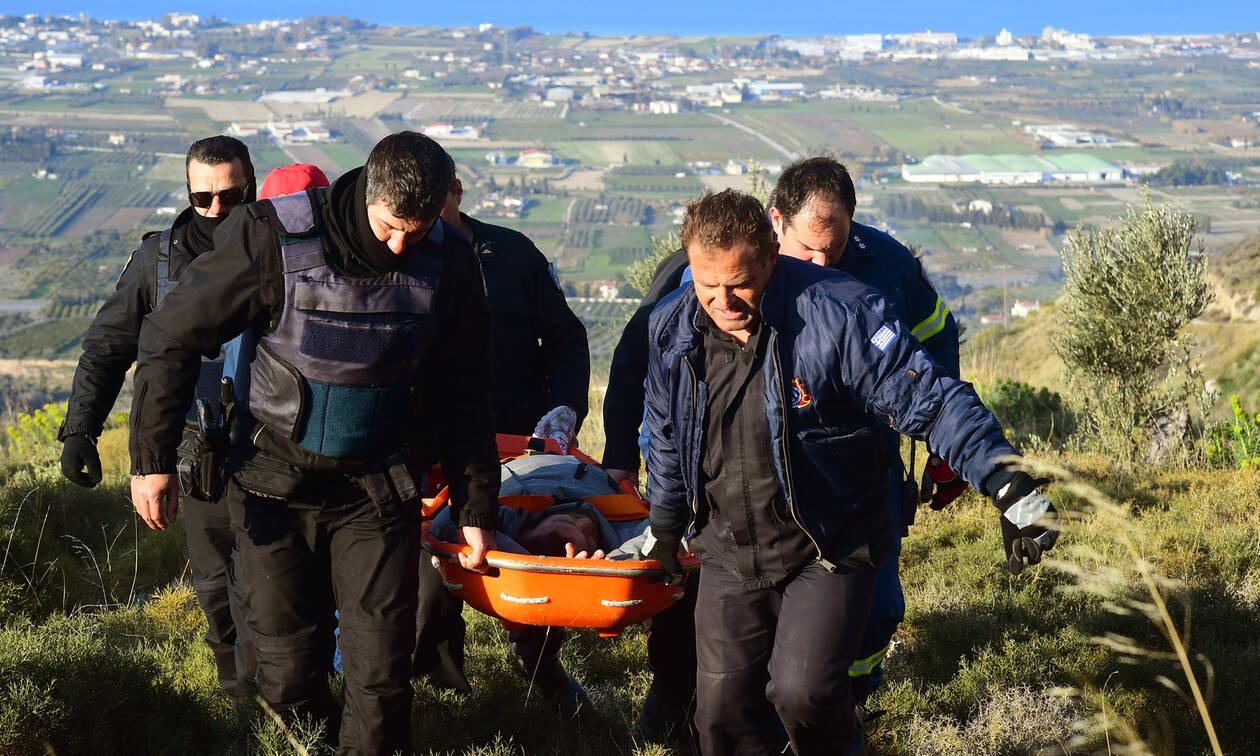 Εντυπωσιακές εικόνες από τη σύλληψη των ληστών στην Κόρινθο μετά τους πυροβολισμούς