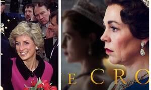 """Οι πρώτες εικόνες με την πριγκίπισσα Νταϊάνα στη σειρά """"The Crown"""" – Φοβερή ομοιότητα της ηθοποιού"""