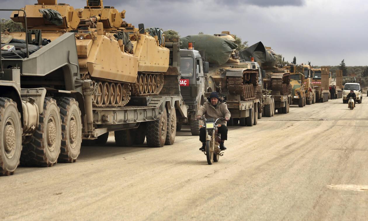 Ένα βήμα πριν το χάος η Συρία: Ο Ερντογάν στέλνει ενισχύσεις στην Ιντλίμπ μετά τις νίκες Άσαντ