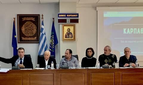 Μάνος Κόνσολας:«Στρατηγικό Σχέδιο τουριστικής ανάπτυξης για την Κάρπαθο με 7 άξονες»