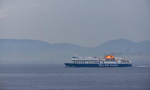 Blue Star 2: Συγκλονιστική μαρτυρία για τον επιβάτη που έπεσε στη θάλασσα του Σαρωνικού
