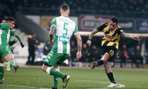 ΑΕΚ – Παναθηναϊκός 1-0: Με την κλάση του Αραούχο (video+photos)