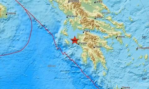 Σεισμός κοντά στην Αμαλιάδα Ηλείας (pics)