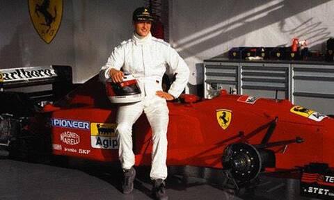 Αυτό είναι το πρώτο μονοθέσιο της Ferrari που οδήγησε ο Schumacher και πωλείται