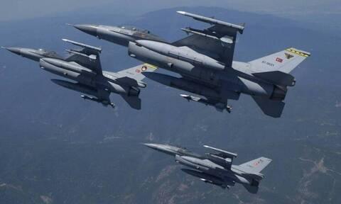 «Εισβολή» τουρκικών F-16 στο Αιγαίο - Τους κυνήγησαν οι Έλληνες πιλότοι
