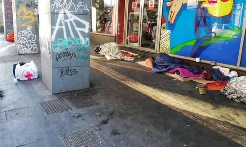 Δράσεις streetwork από τον Ελληνικό Ερυθρό Σταυρό